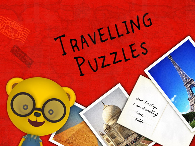 Travel Puzzles by Tiny Tap