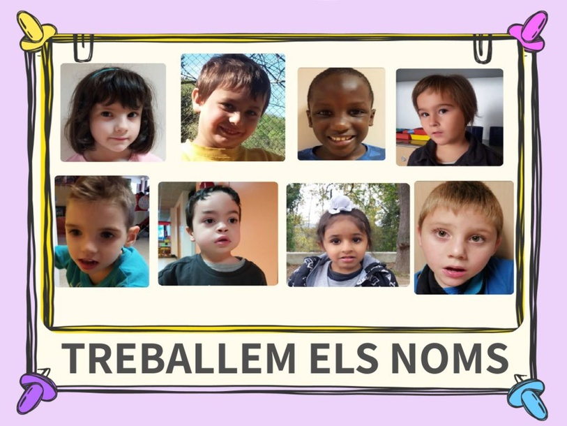 Treballem els noms_JANA by Escola Joan23