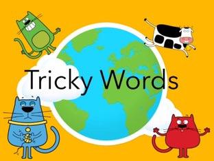 Tricky Words by Allison McGillivray