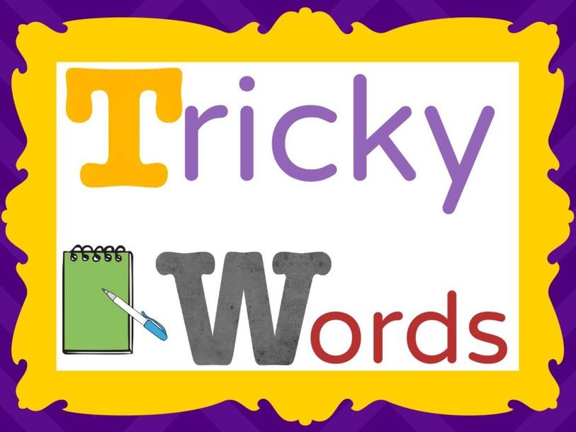 Tricky Words by Cassie O'Neill