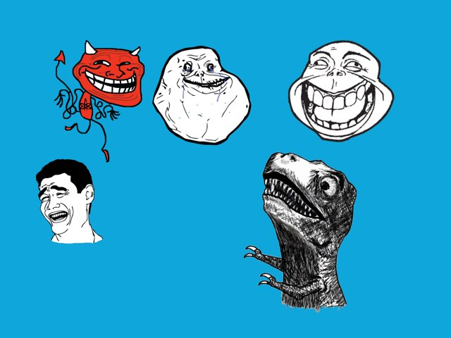 Trolls by cade van aelst