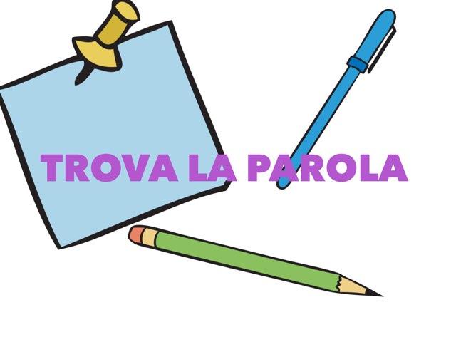 Trova La Parola by Anna Guglione