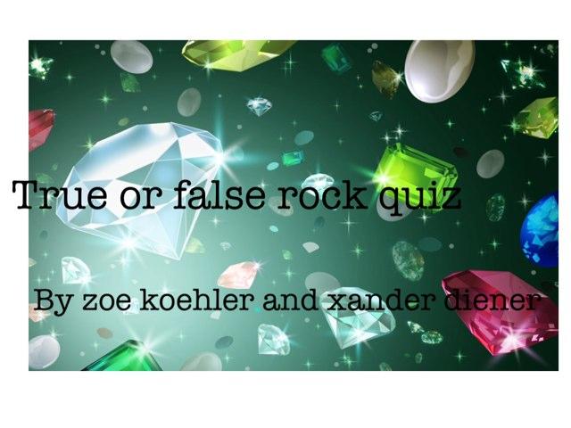 True Or False By Zoe & Zander by Arlene Gregersen
