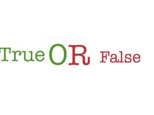 True Or False by Diaries Garcia