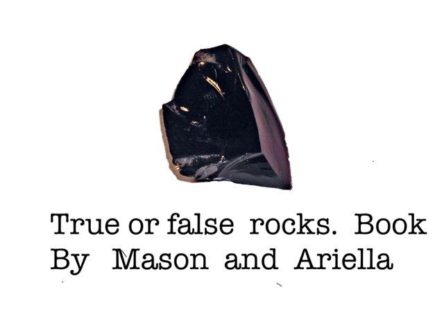 True Or false By Mason & Ariella by Arlene Gregersen