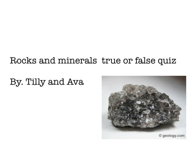 True Or false By Tilly & Ava by Arlene Gregersen