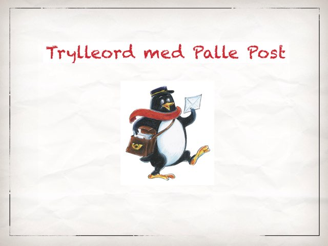 Trylleord Med Palle Post by Anne-Marie Tange-Pagaard