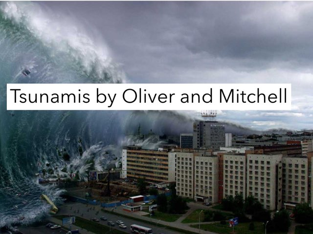Tsunamis By Mitchell And Oliver by Jane Miller _ Staff - FuquayVarinaE