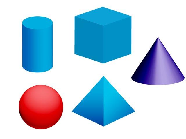 Tunnista geometriset kappaleet by Pimakv