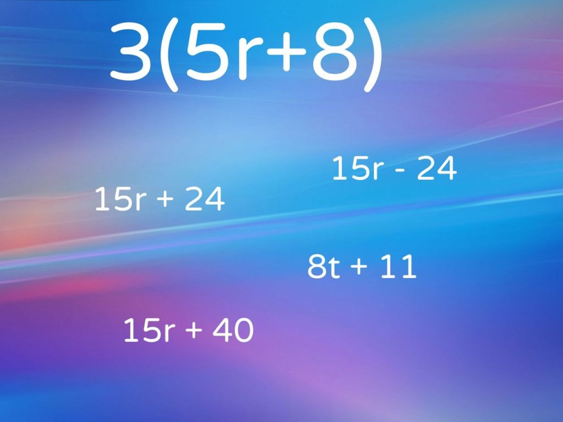 Two- Step equations and Distributive Property! by KAITLYN SWAIN