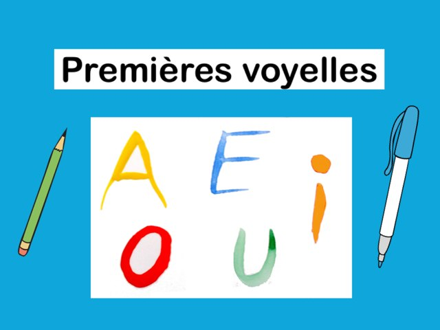 Premières Voyelles by Seve Haudebourg