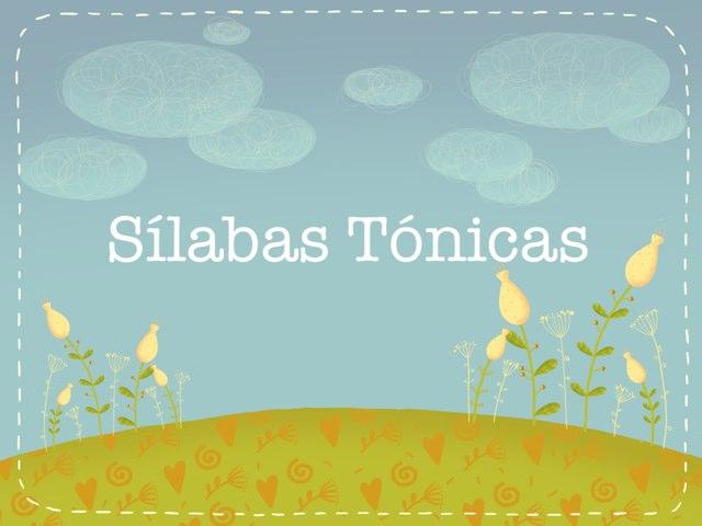 Sílabas Tónicas by iPad Cart