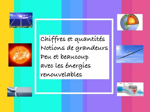 Maths avec Les Énergies renouvelables  by Martine Freymann