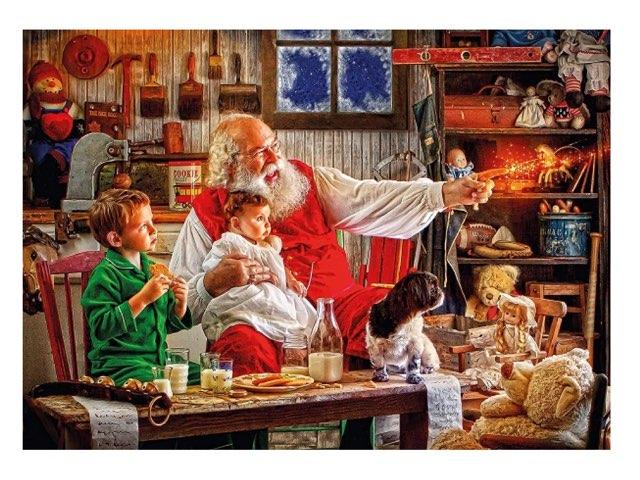 !¡ Santa's Work Shop ¡! by Daniel Whiting