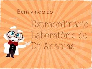 Extraordinário Laboratório Do De Ananias by Natália Pinto