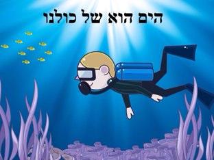 הים הוא של כולנו by Beit Issie Shapiro