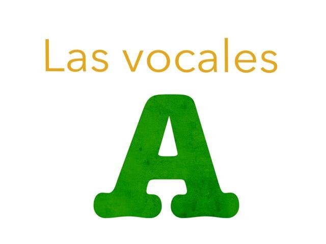 Las Vocales Para Niños by Alba Calvo Simo