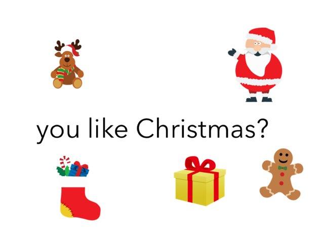 Você Gosta Do Natal? by Evellyn Rangel