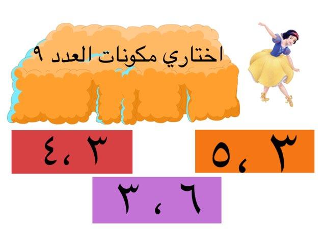 مكونات العدد٩ by السيد فاروق
