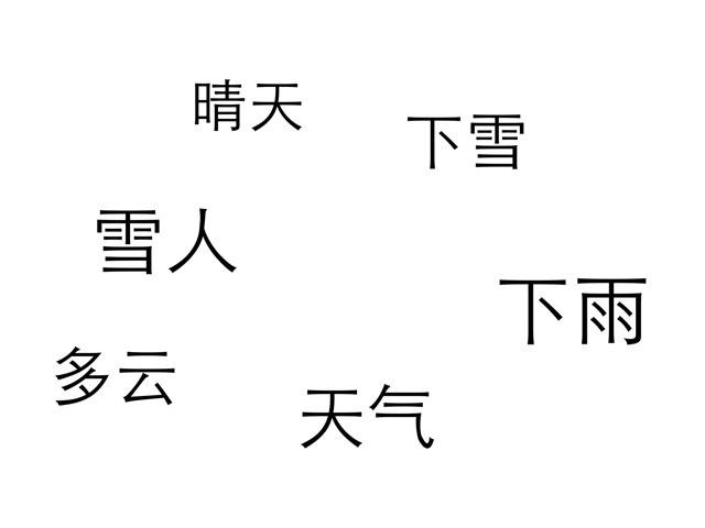 天气1(一年级) by cheng dong