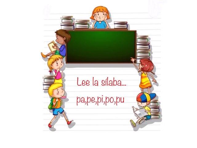 Lee La Sílaba (pa,pe,pi,po,pu) by Zoila Masaveu