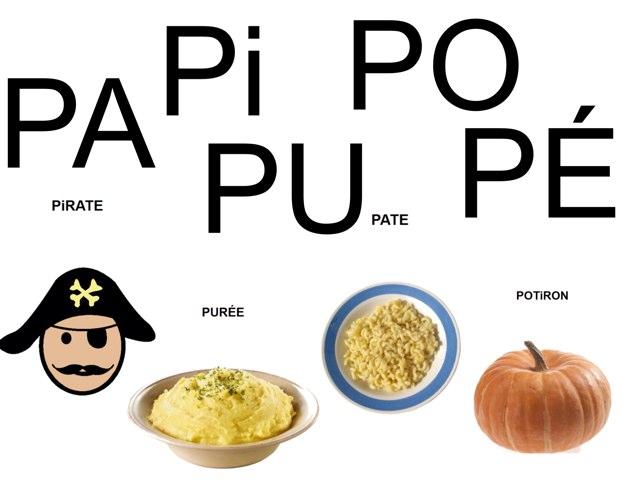 Mots à compléter avec PA Pi PO PU PÉ. by Valerie Escalpade