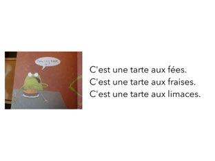 Questions La Tarte Aux Fées by Les Marronniers