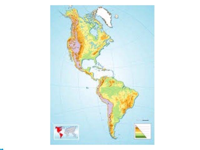 América Mapa by Miguel  Palma