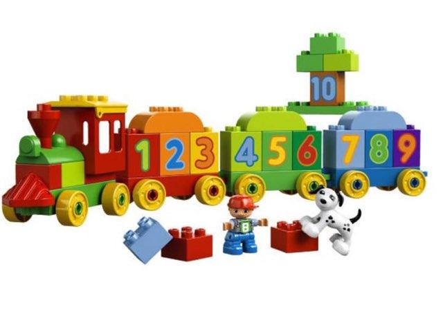 רכבת המספרים סידור המספרים מ1-4  by Gila haroush