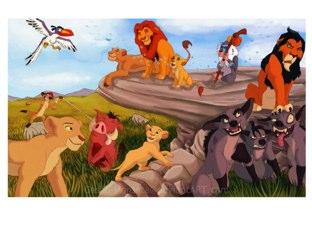 פאזל  מלך האריות by Zohar Zioni