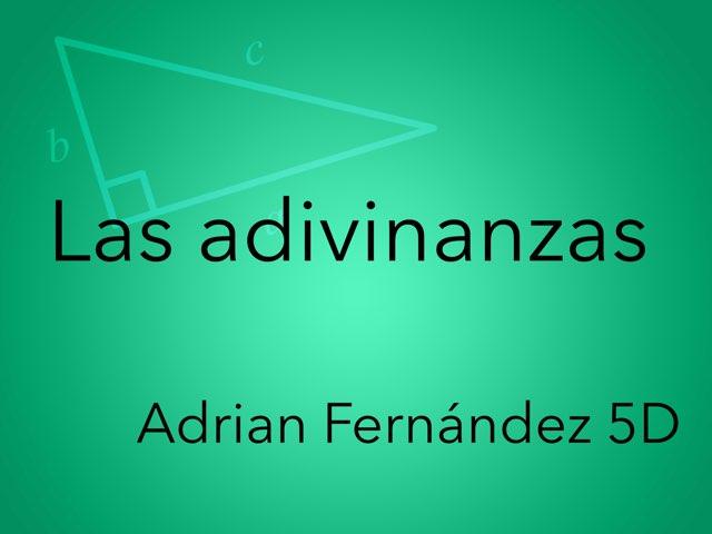Las Adivinanzas de Adrian 5º by Diego Campos