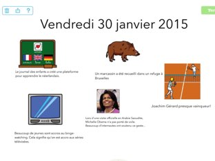 ESC Actualité 30/01 by Marion Geerinckx