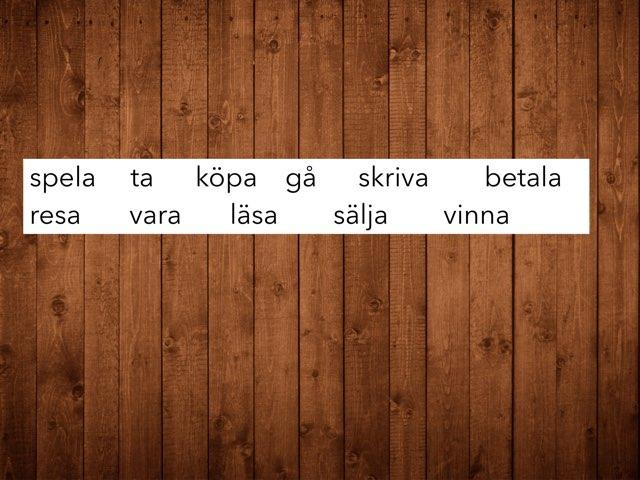 Verbejä på svenska by Teemu Niemi-Aro
