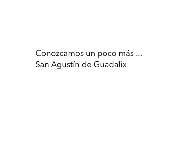 Conoce San Agustín De Guadalix by Jorge Gómez