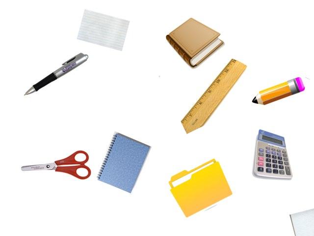 Los útiles escolares (4th) by Mariela Triana