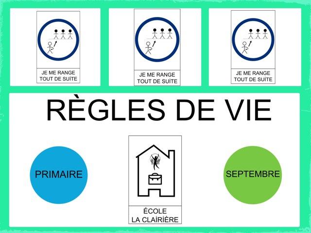 """RÈGLES DE VIE """" Je Me Range Tout De Suite"""" by Hugues Wallaby"""