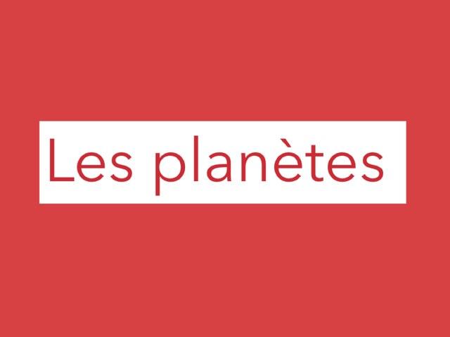 Les planète by Eloise Mc Carthy