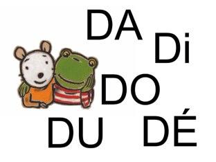 Cherche DA Di DO DU DÉ by Valerie Escalpade