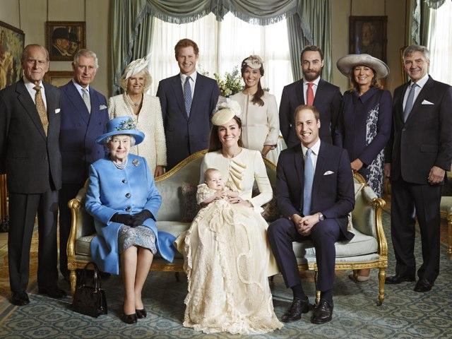 Englische Königsfamilie by Marina Ruß