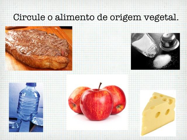 Qual é a origem do alimento? by Denise Zobl