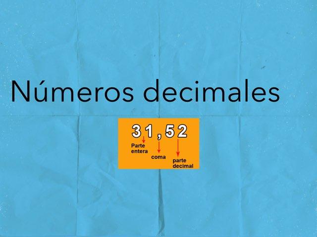 Números Decimales by Javier Andrés Ruíz
