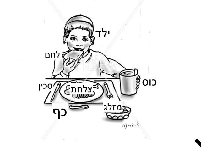 מילים לשולחן האוכל by Dan mel