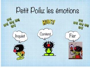 Petit Poilu: Les émotions by Caro Caroline