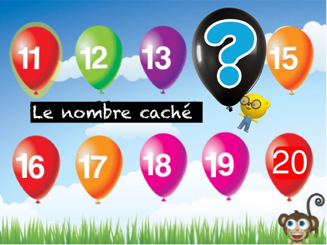 Nombre Caché 10 À 20  by Marie S