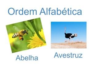 Ordem alfabética  by Vilma Azevedo