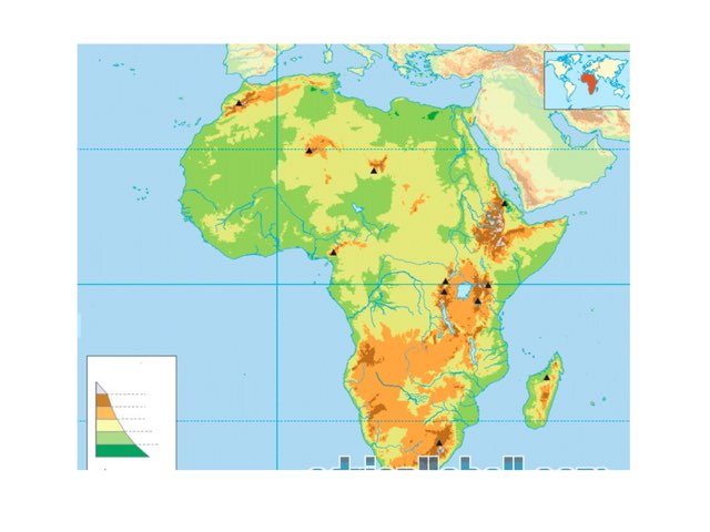 África  Física by Pablo Calderon