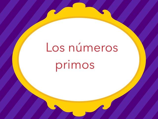 Los Números Primos  by Loraine García Rodríguez