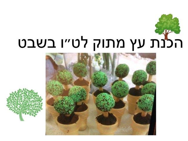 מתכון עץ מתוק לט״ו בשבט by Anat Kolb Yakuti