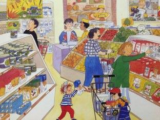 קניות by Larissa Lora