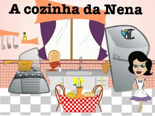 A cozinha da Nena (Dissílabos) by Jhessica Monteiro